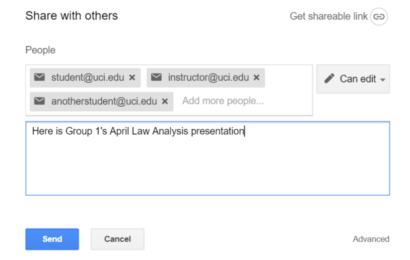 using google slides for group presentations – division of teaching, Presentation templates